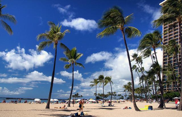 Waikiki Beach Hawaii.