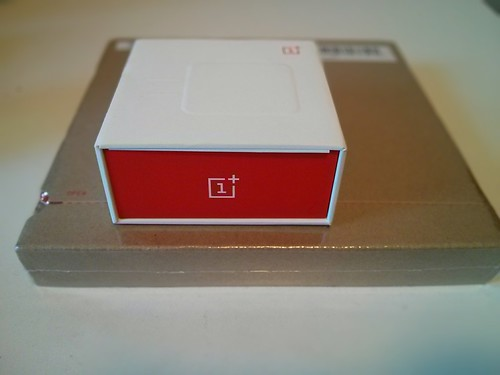 OnePlus One smartphone unpacking