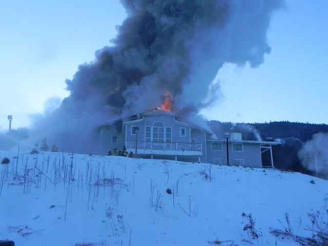 Ascent Base Lodge fire