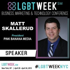 Be sure to check out the latest updates at www.LGBTWeek.NYC #LGBTWeekNYC #LGBTBiz - early bird registration discounts available thru 2/28/15 - Facebook event page updates at https://www.facebook.com/events/677586752354868/