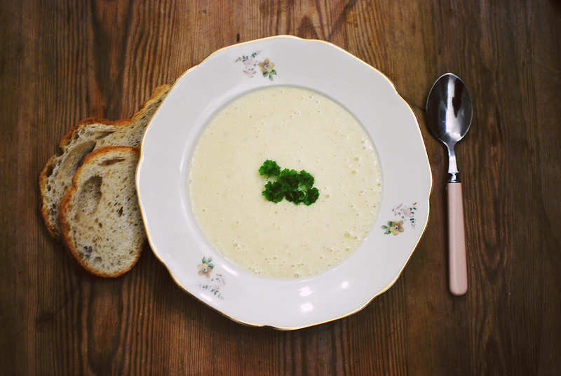 jordärtskockssoppa