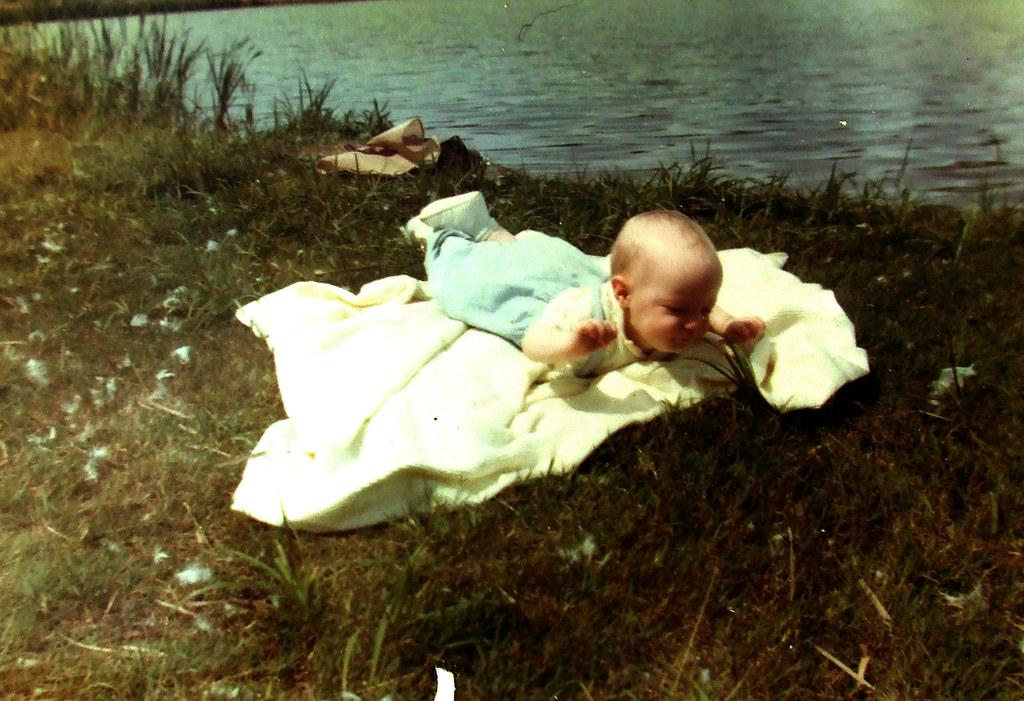 on the lake shore, 1966
