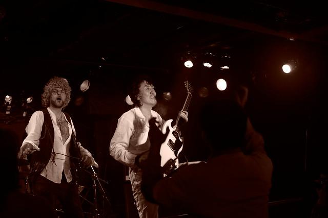 TOWNZEN live at Outbreak, Tokyo, 18 Jan 2015. 355