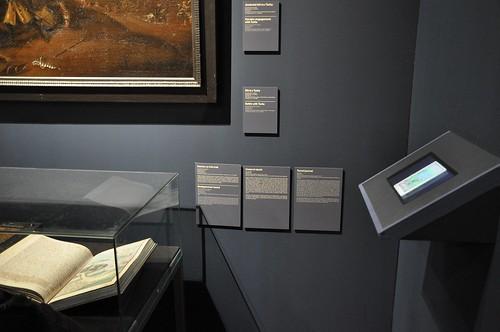 Výstava Hrady a zámky objevované a opěvované (19.12.2014-15.12.2015). Popiskové zákoutí