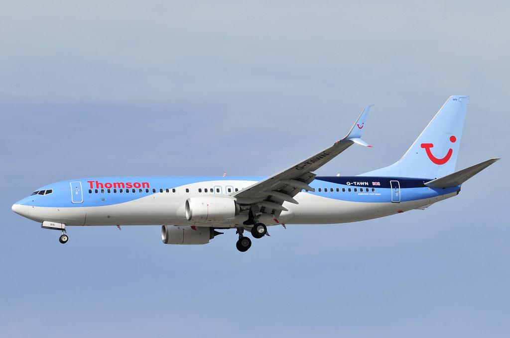 G-TAWN - B738 - Tiara Air