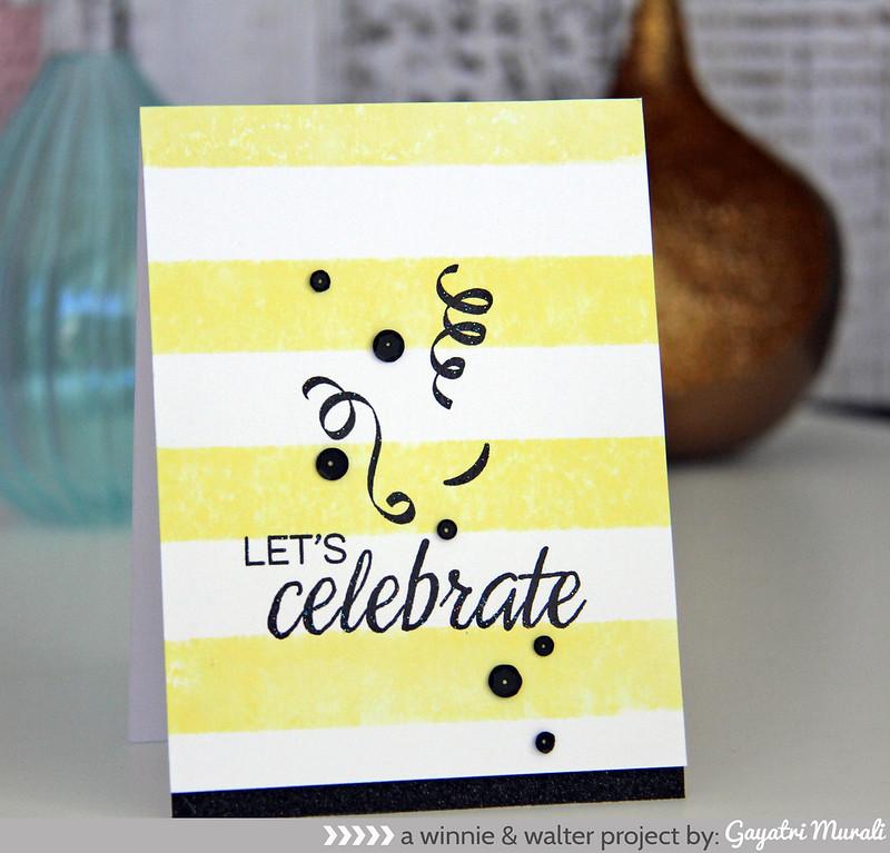 Let's celebrate card2