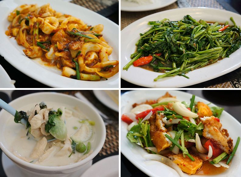 曼谷On Nut站美食Krua Sai Lom Restaurant 平價泰式料理
