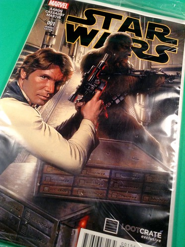 January 2015 Loot Crate Star Wars comic
