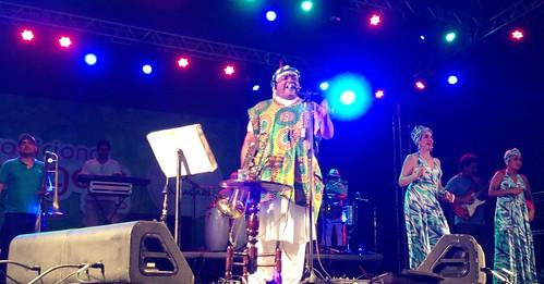 FOTOS - Geronimo Santana e Banda Mont´Serrat - Festa do Padroeiro Bom Jesus dos Navegantes em Jauá (Camaçari-Bahia-Brasil) 30-01-2015