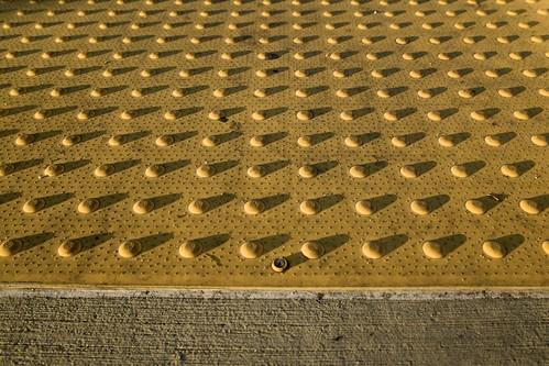 california sunset abstract shadows bokeh sidewalk longbeach dots ricohgr