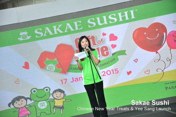 Sakae Sushi Chinese New Year Treats & Yee Sang Launch