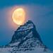 The Moon at 10:10 am by *Jonina*