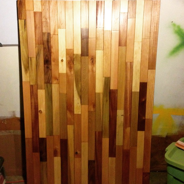 #headboard #stained