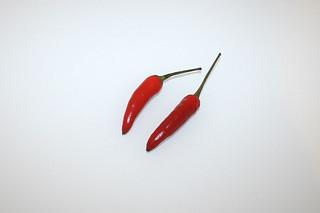 06 - Zutat Chilis / Ingredient chilis