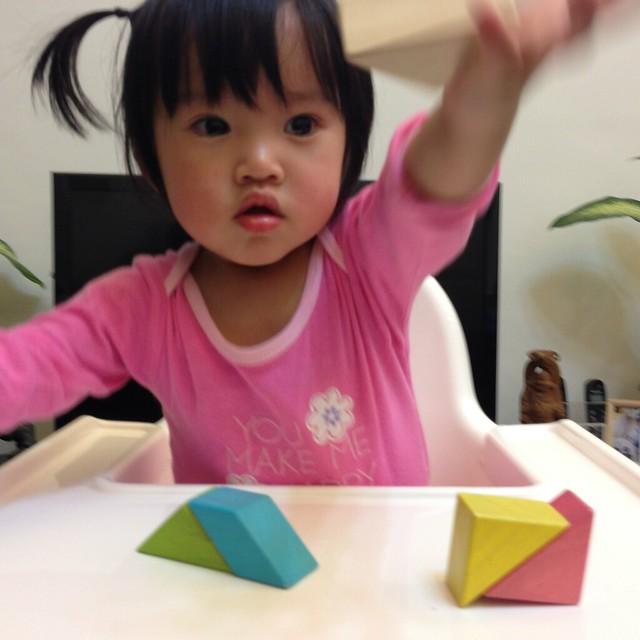 玩 TEGU 磁性積木