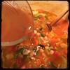 Cucina Dello Zio #homemade #Minestrone Soup #CucinaDelloZio - water + stock etc...