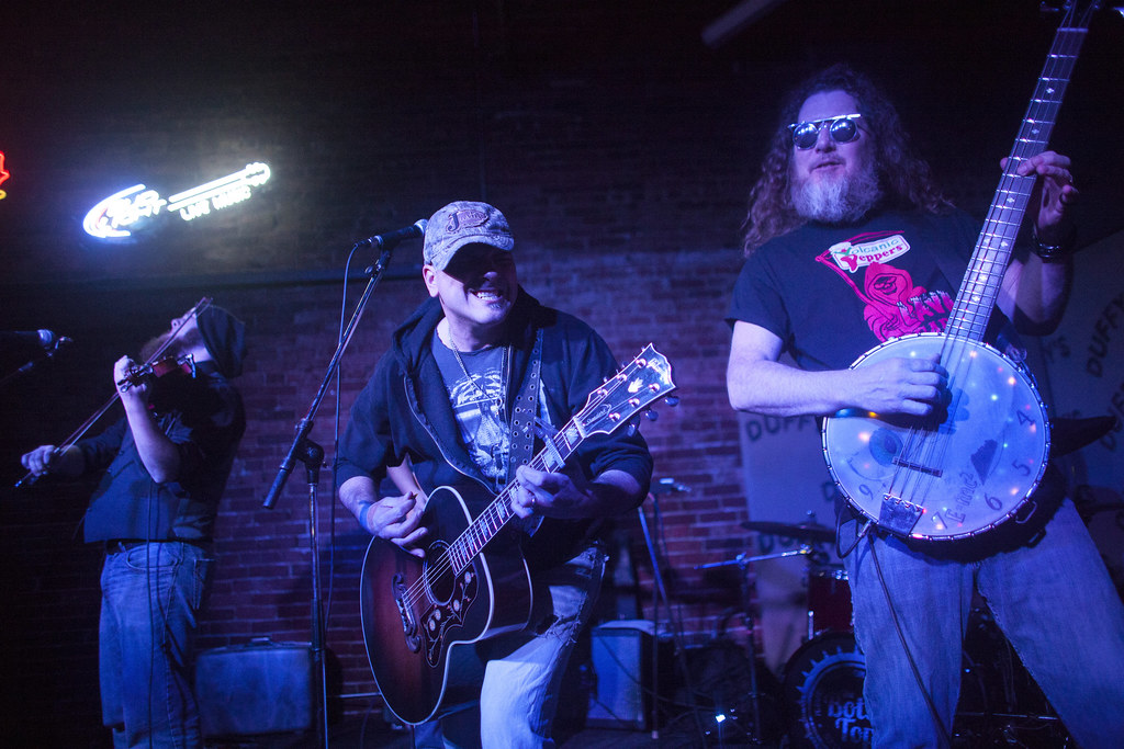 Emmett Bower Band at Duffy's Tavern for Lincoln Exposed   Feb. 6