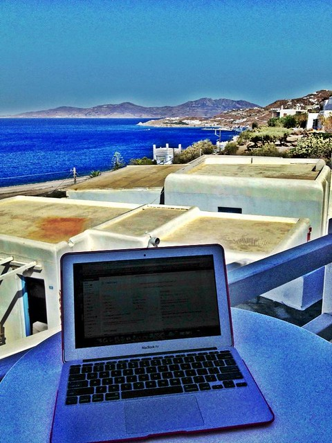 Office on Mykonos