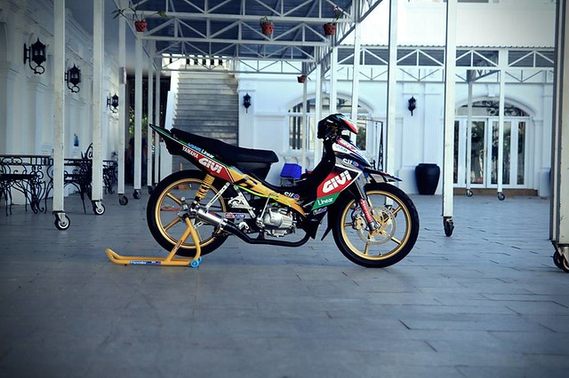 Jupiter độ phiên bản chạy sân Malaysia Cub Prix 5
