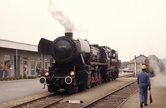 * Österreich  Dampfloks 52  #2  New Scan