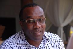 Godfrey Bwana at the MilkIT writeshop held in Tanzania, 5 March 2015