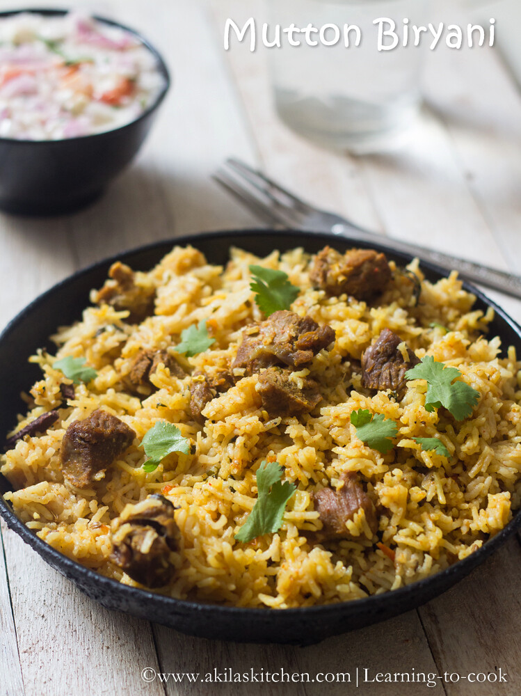 How to make mutton biryani