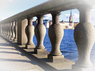 Stockholm, Riddarholmen, view from City Hall