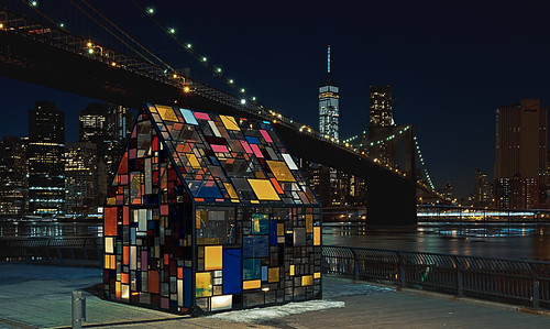 wowographycom wowography newyorkcity bridge brooklynbridge publicart plexiglass tomfruin nyc dumbo art lowermanhattan freedomtower longexposure nikon d610 1635mm eastriver snow buildings architecture skyline nightphotography fultonferrypark copenhagen kolonihavehus 2015 2185245 woopsviewsnotworkingtoday lightroom5 photoshopcc exposure6 cabinfever tomreese photography 500px