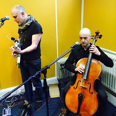 The Bara Bara Band, Hendrik Huthoff & the Tango Terra House Live Band plus Tolerance Manoeuvre perform live in session on The Hello GoodBye Show on Resonance FM on Saturday 21st February 2015.