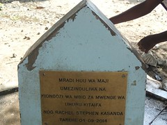 fresh water faucet in the village in natron