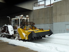 Snow clearing equipment.