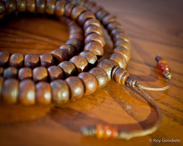 Restrung 12mm Bodhi Seed Mala