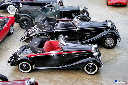 1936 - 1942 Mercedes-Benz 170 V Cabriolet A and 1938 Horch 853 Cabriolet A