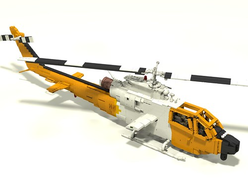Bell 209 Firewatch Cobra right upper front
