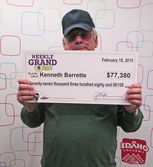 Kenneth Barrette from Boise, ID - $77,380.95 Weekly Gran
