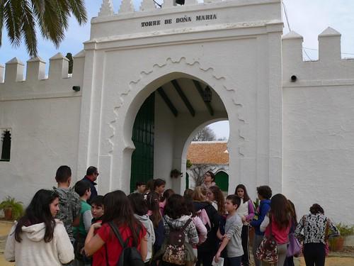 Visitas escolares a las haciendas por el Día de Andalucía