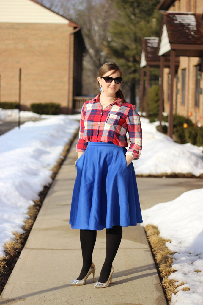 Plaid and Midi 5