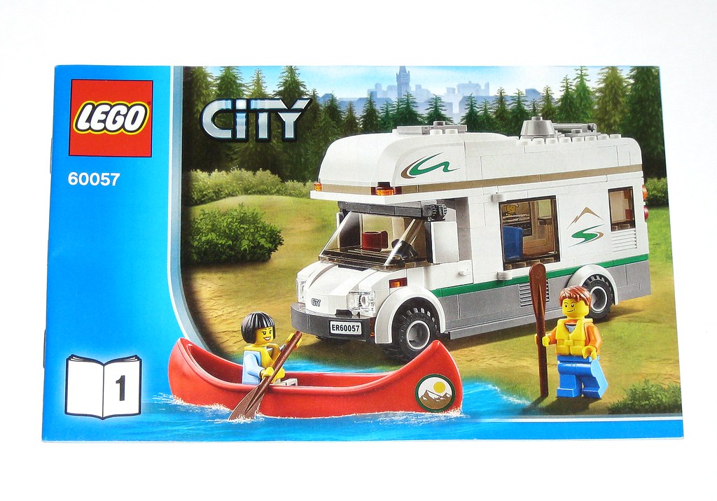 Lego 60057 Lego City Camper Van 2014 Instructions Instruction
