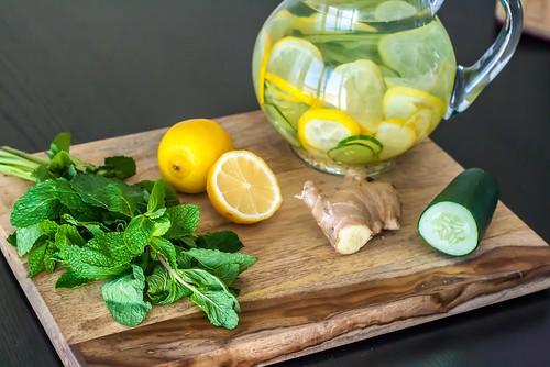 limonada de pepino