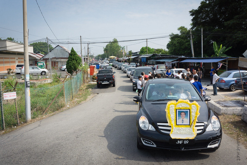 Lim Kheng Siang leaving Sri Gading for the last time