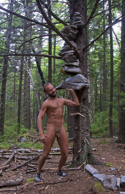 naturist 0009 Appalachian trail, Vermont, USA