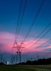 Power Lines Along The Preston Ridge Trail