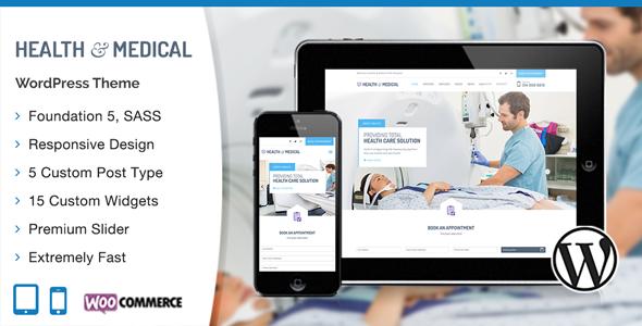 Medical WordPress Theme v1.0.4