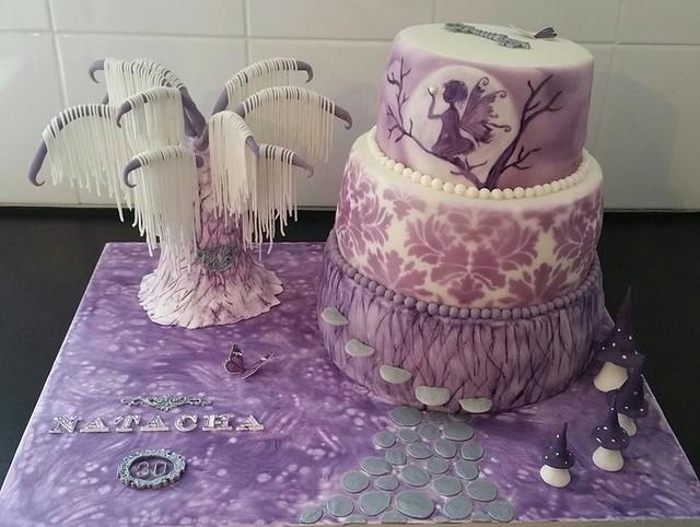 Fairy World Cake by Choupi Nette of La Miss Pâtisse