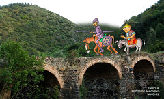 Sierra Morena, consejos de don Quijote a Sancho