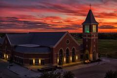 Another sunset image @gracechurchfrisco last night.