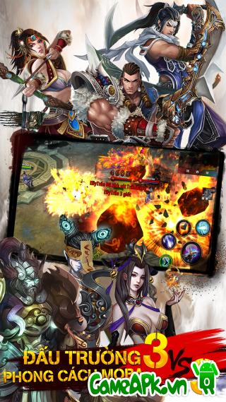 Figure 3: Đại Mạc Phong Vân v1.1.5 hack full cho Android - Game APK Miễn Phi, Tải Game Android Miễn Phí