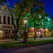 wellsboro, PA lit by gas lights by melike erkan