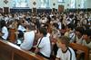 Arquidiocese de Campinas postou uma foto:Imagem peregrina no Colégio São José no dia 18 no outubro.Fotos: Colégio São José