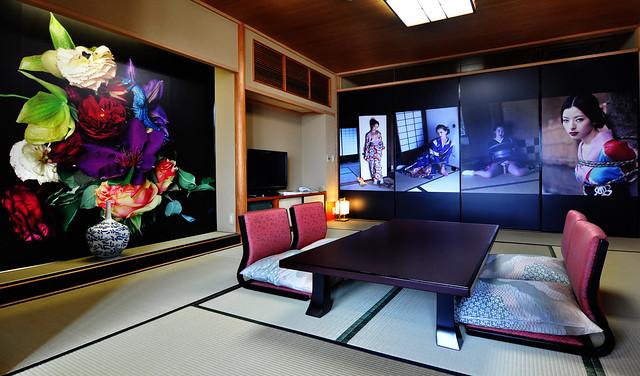 PARADISE by Nobuyoshi Araki at hotel Kowakuen